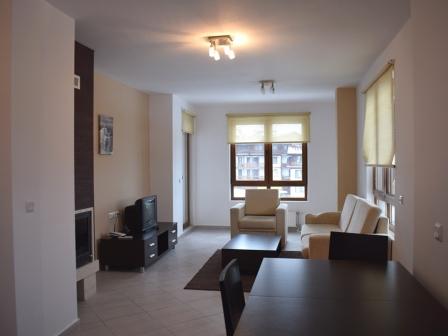 ID -470, Банско Обзаведен апартамент с една спалня с камина за продажба