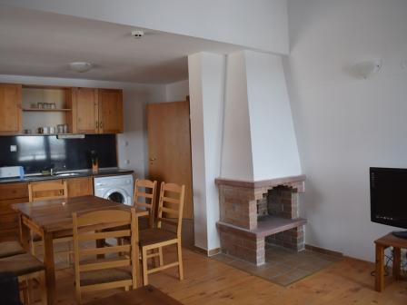 ID -485, Банско 2- стаен апартамент с камина за продажба в комплекс с басейн